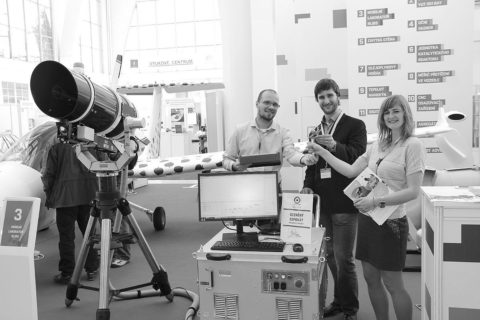 Gold Award at the International Engineering Fair for X-Trace – mobile Stand-Off LIBS device