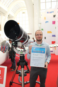 Gold Award at the International Engineering Fair for X-Trace - mobile Stand-Off LIBS device