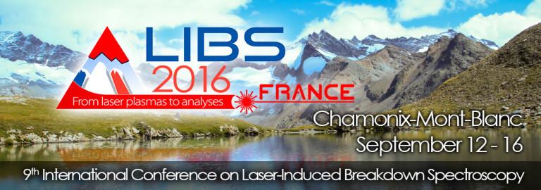 AtomTrace on LIBS 2016 in Chamonix (France)