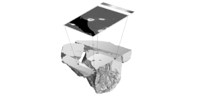 LIBS and Computed Tomography for volumetric information of the sample