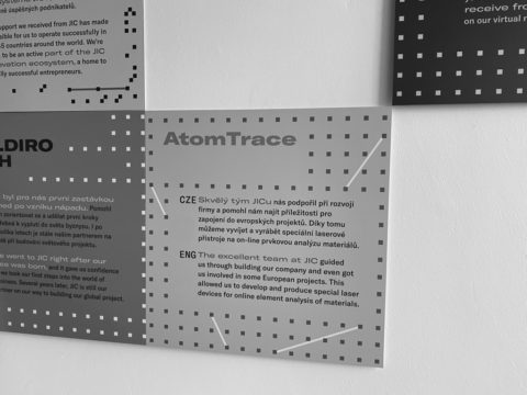 AtomTrace on the Wall of Fame at JIC!